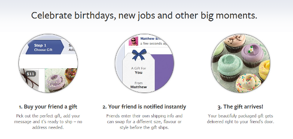 Facebook Gifts small
