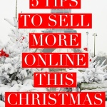 5 Tips To Sell More Online this Christmas Seasion