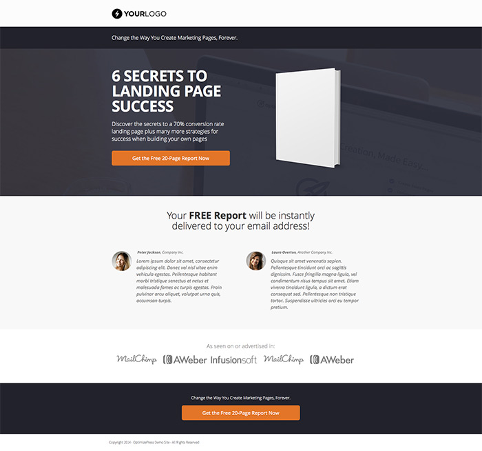 Optimizepress template 6