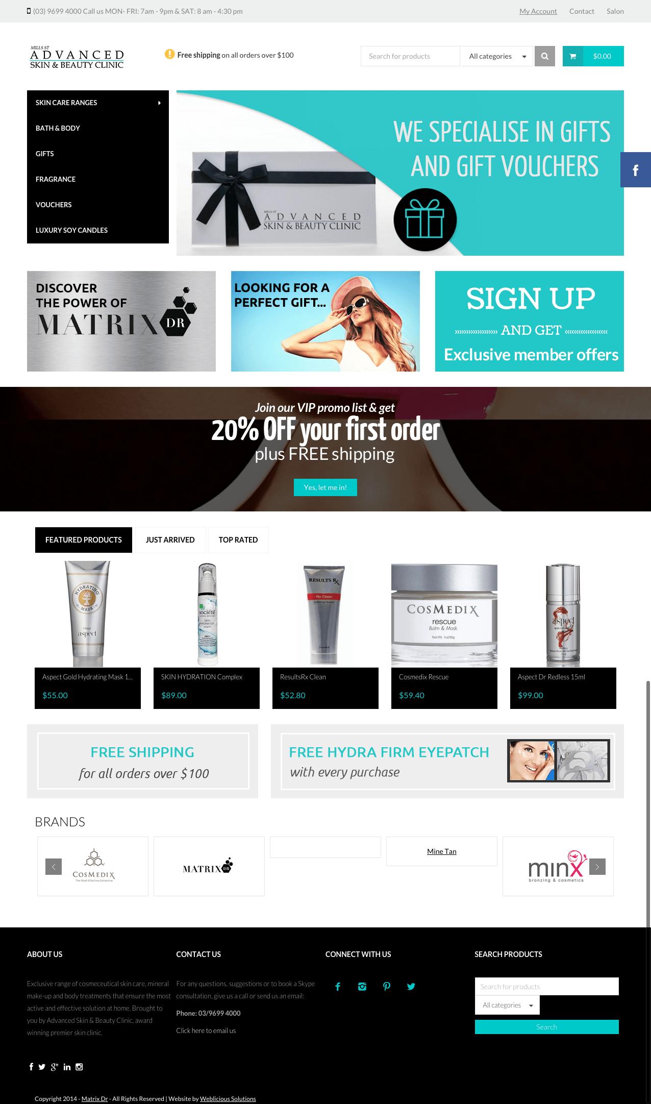 Online Skin Store-min
